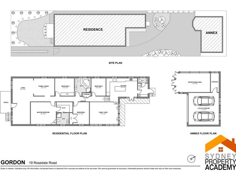 19 Rosedale Road, Gordon, NSW 2072 - floorplan