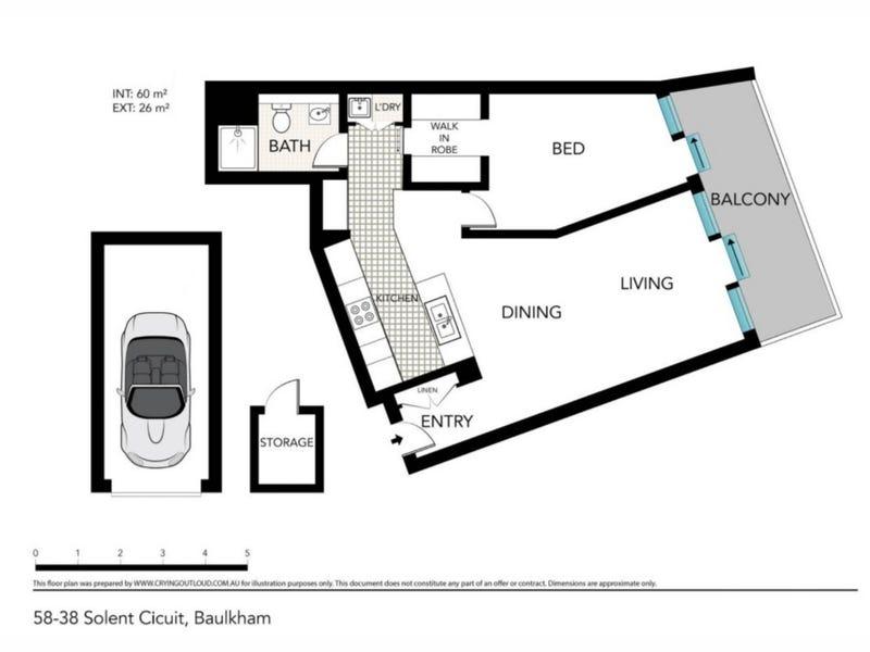 58/38 Solent Circuit, Baulkham Hills, NSW 2153 - floorplan