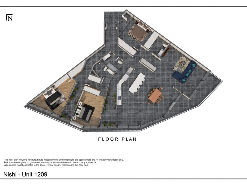1209/25 Edinburgh Ave, City, ACT 2601 - floorplan