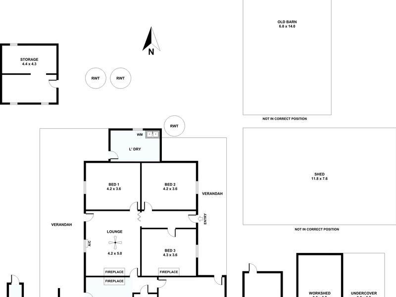 94 Robertson Road, Towitta, SA 5353 - floorplan