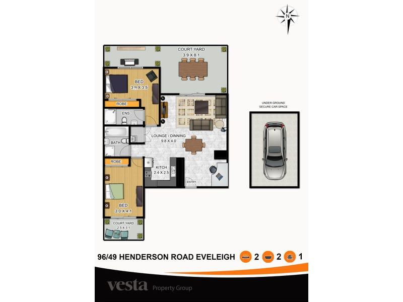 96/49 Henderson Road, Eveleigh, NSW 2015 - floorplan