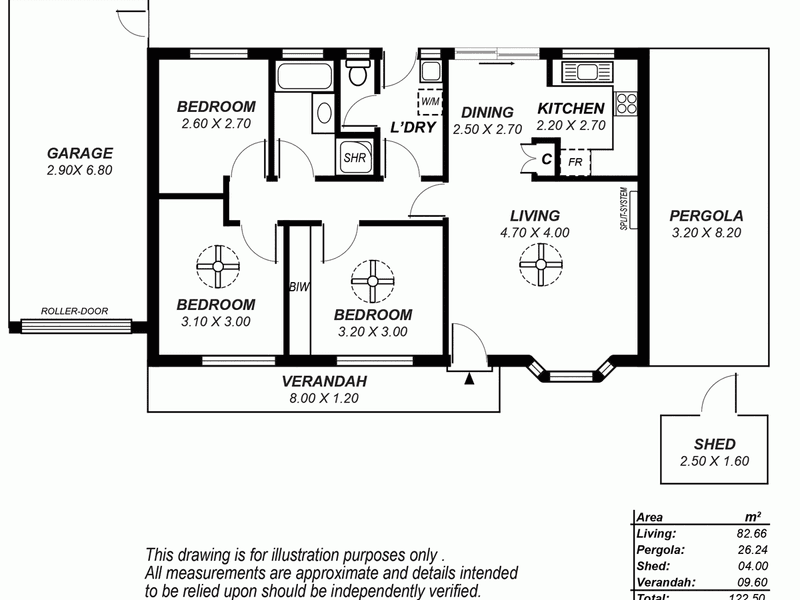 1B Brown Street, Norwood, SA 5067 - floorplan
