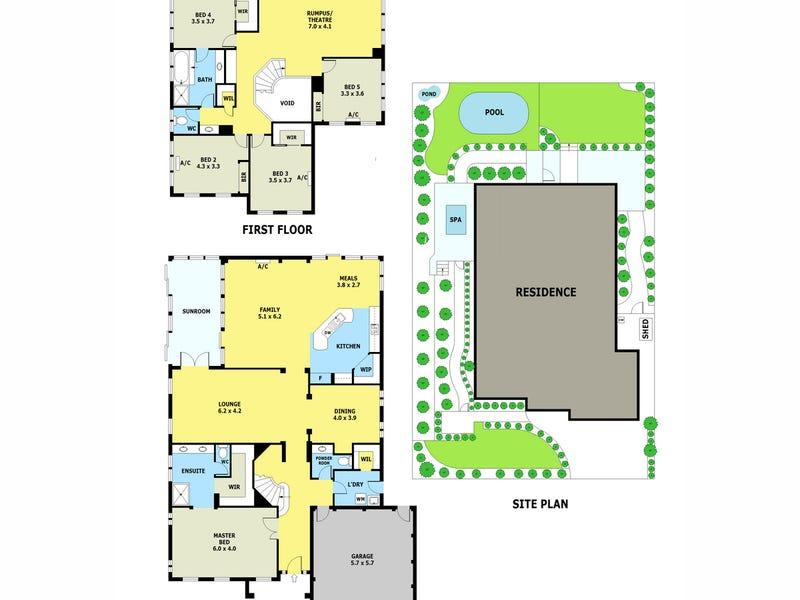 5 Zulu Close, Lilydale, Vic 3140 - floorplan