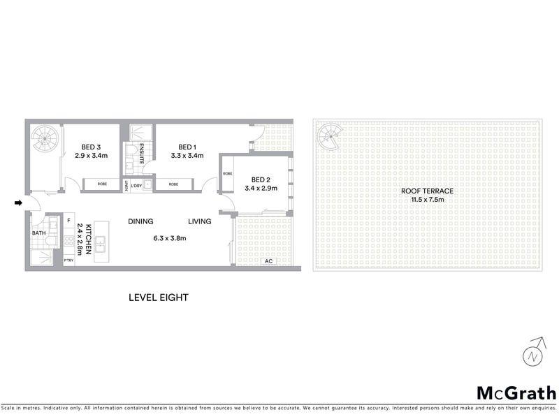 809 Metropol, Reid, ACT 2612 - floorplan