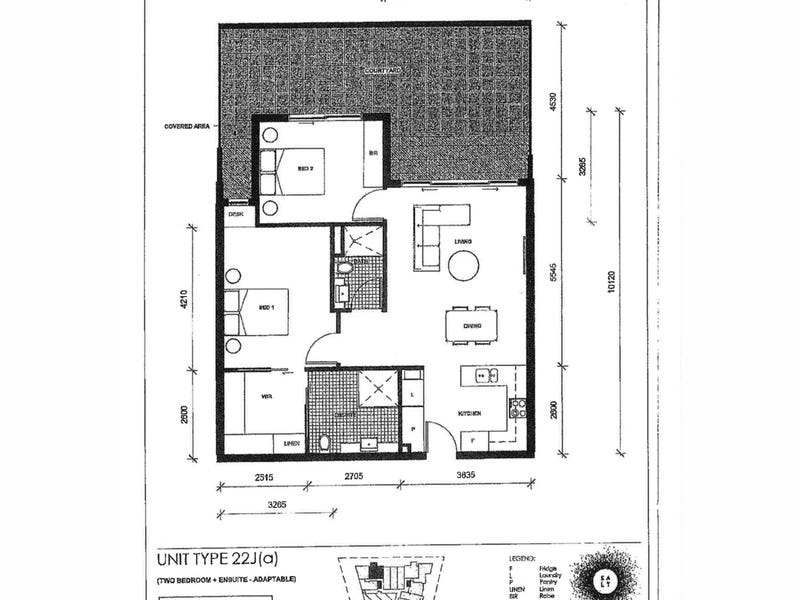 3/29 Dawes Street, Kingston, ACT 2604 - floorplan