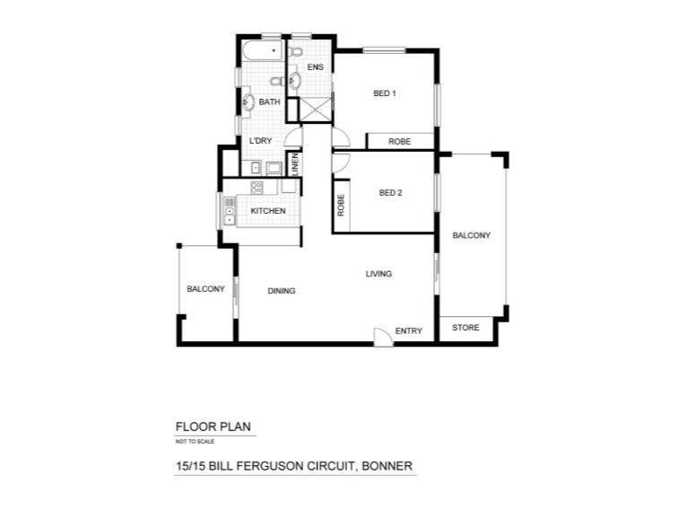 15/15 Bill Ferguson Circuit, Bonner, ACT 2914 - floorplan