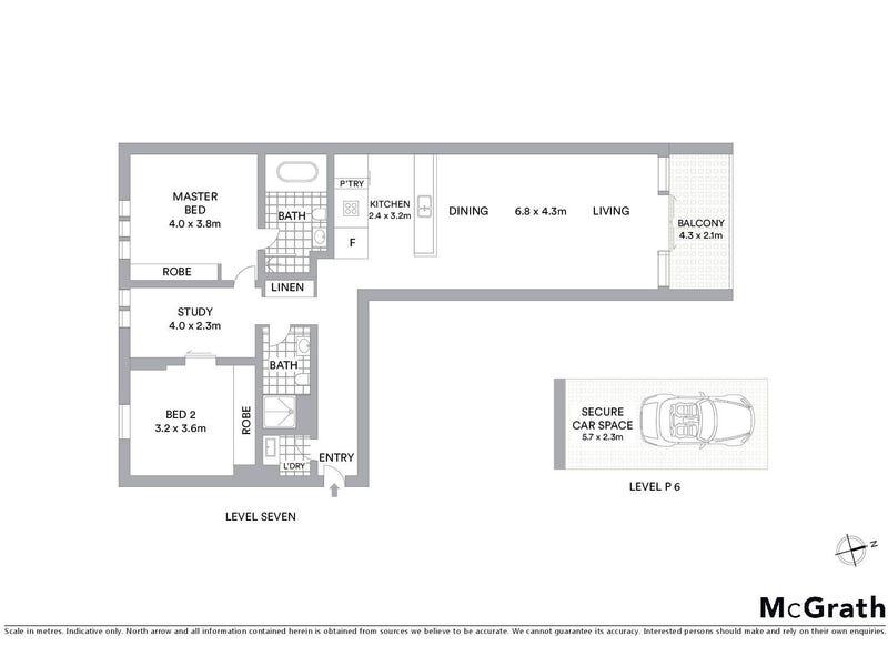 701/157 Liverpool Street, Sydney, NSW 2000 - floorplan