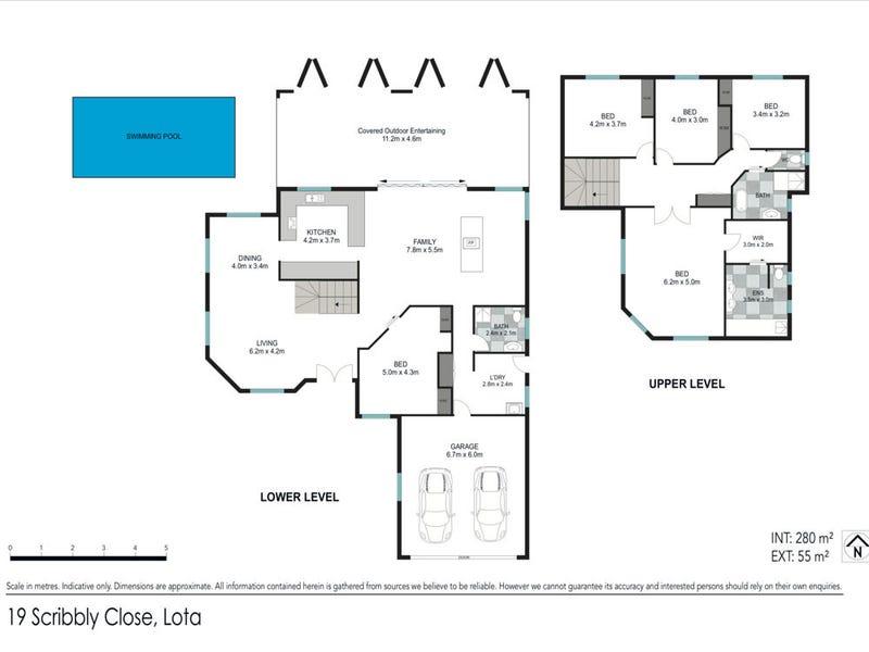 19 Scribbly Close, Lota, Qld 4179 - floorplan