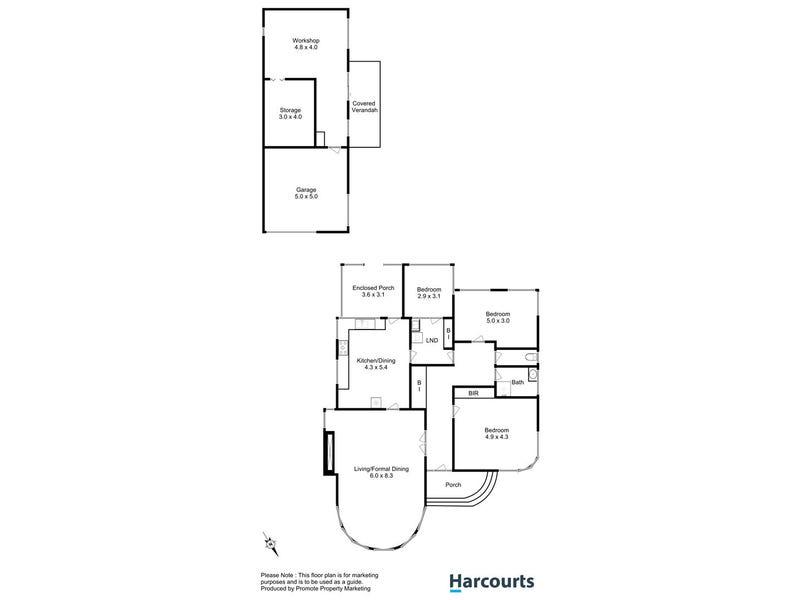 6 Herbert Street, Montrose, Tas 7010 - floorplan