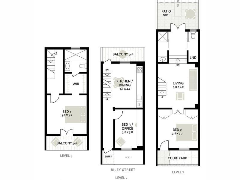 287 Riley Street, Surry Hills, NSW 2010 - floorplan