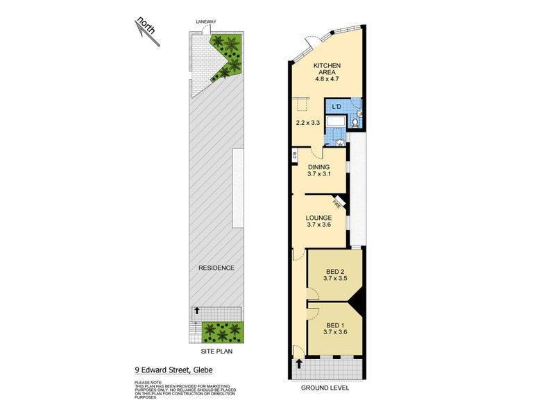 9 Edward Street, Glebe, NSW 2037 - floorplan