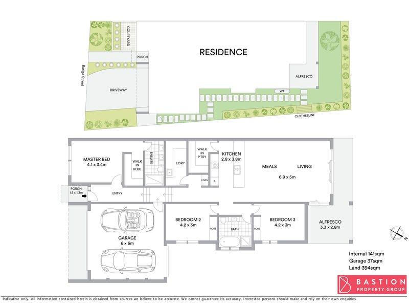 14A Buriga Street, Giralang, ACT 2617 - floorplan