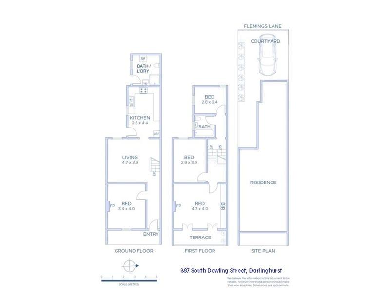 387 South Dowling Street, Darlinghurst, NSW 2010 - floorplan