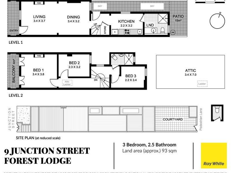 9 Junction Street, Forest Lodge, NSW 2037 - floorplan