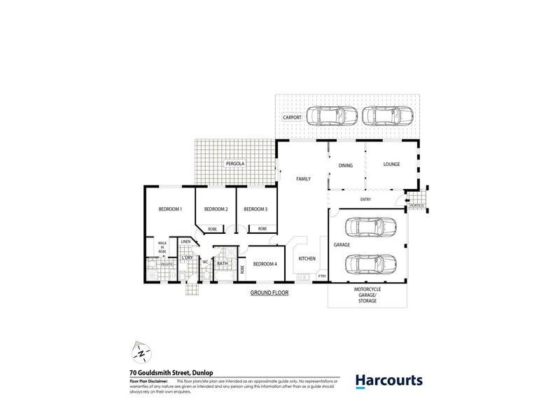 70 Gouldsmith Street, Dunlop, ACT 2615 - floorplan