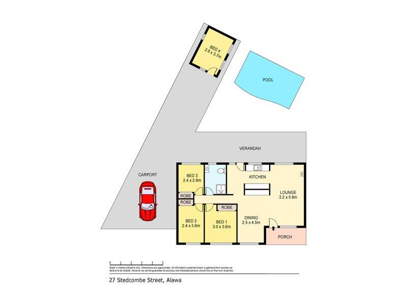 27 Stedcombe Street, Alawa, NT 0810 - floorplan