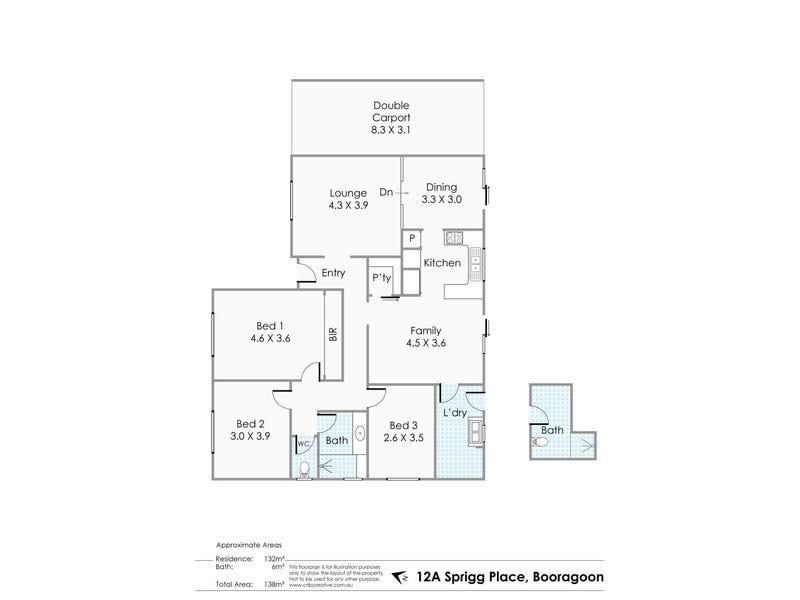 12A  Sprigg Place, Booragoon, WA 6154 - floorplan
