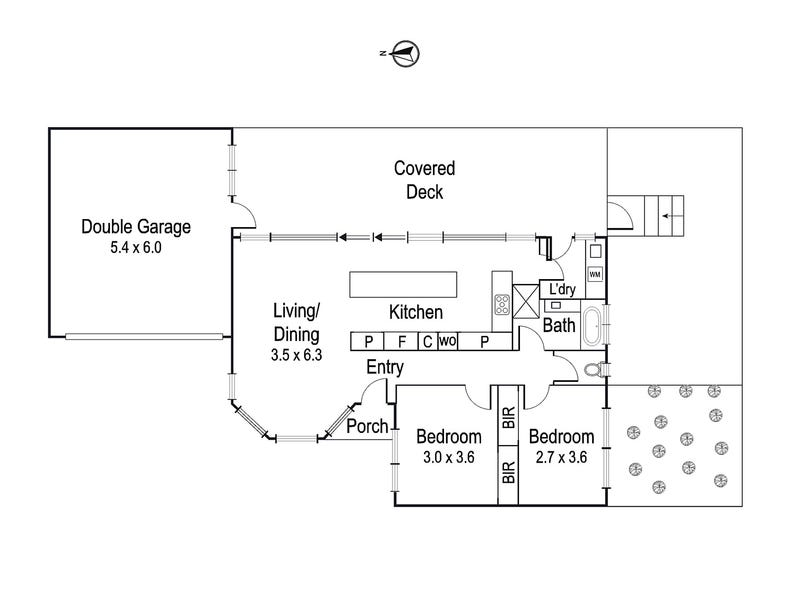3/42 Ford Street, Ivanhoe, Vic 3079 - floorplan