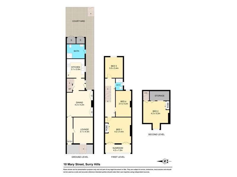 10 Mary Street, Surry Hills, NSW 2010 - floorplan