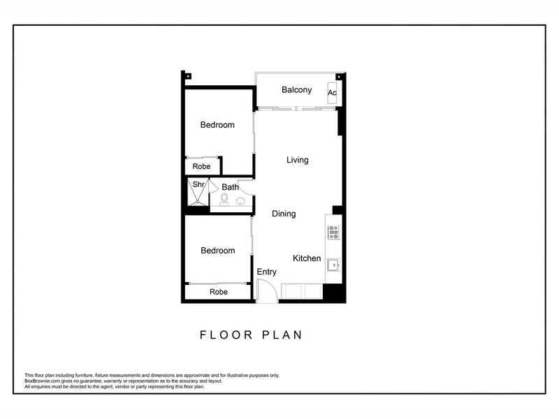 4401/639 Lonsdale Street, Melbourne, Vic 3000 - floorplan