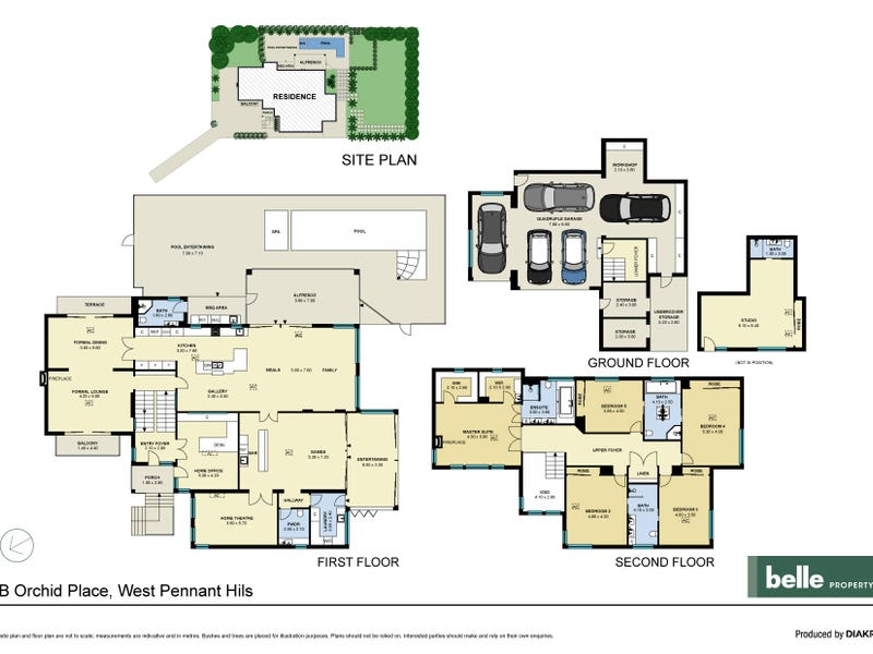 2B Orchid Place, West Pennant Hills, NSW 2125 - floorplan