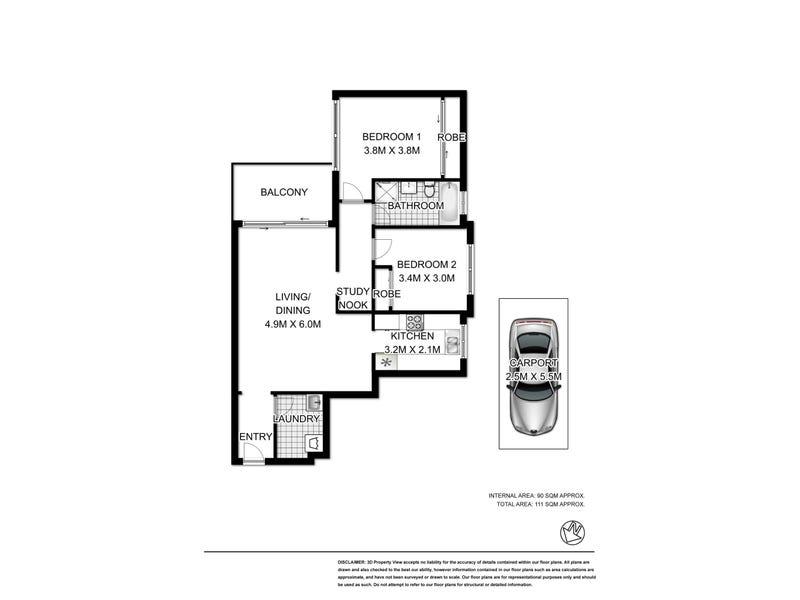 14/27 Leichhardt Street, Glebe, NSW 2037 - floorplan