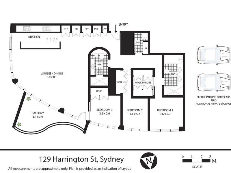 129 Harrington Street, Sydney, NSW 2000 - floorplan