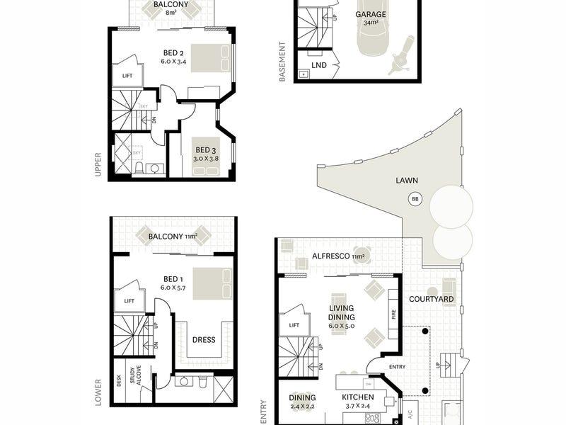 111B Mort Street, Balmain, NSW 2041 - floorplan