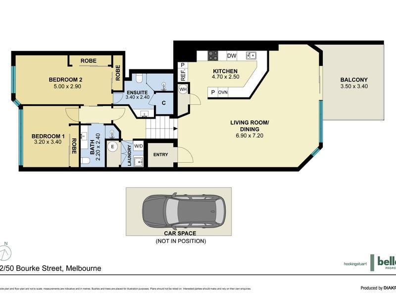 12/50 Bourke Street, Melbourne, Vic 3000 - floorplan