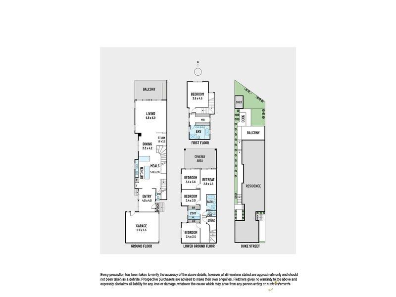 3/36 Duke Street, Kew, Vic 3101 - floorplan