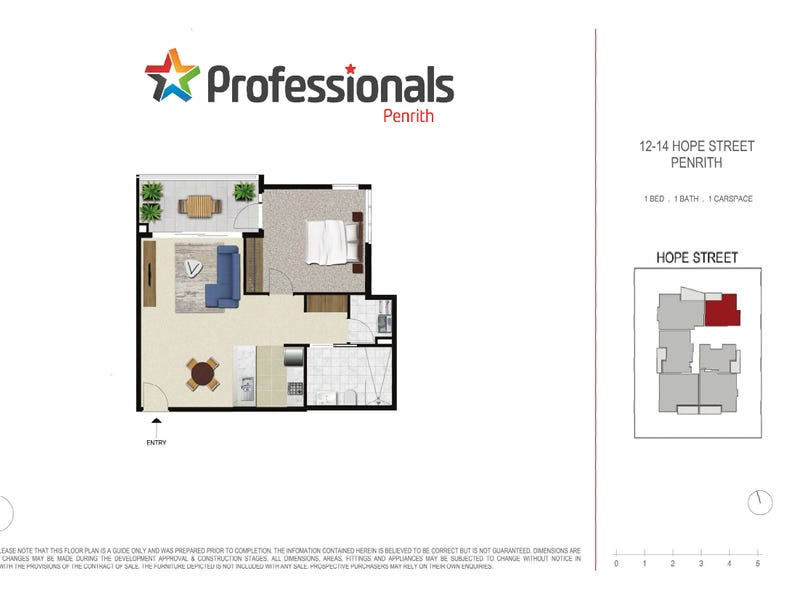 24/12-14 Hope Street, Penrith, NSW 2750 - floorplan
