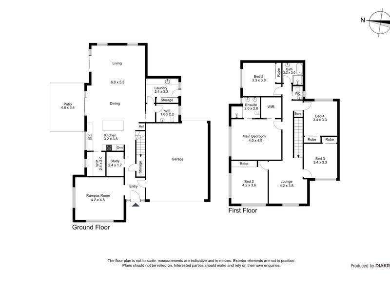 17 Amicus Street, Moncrieff, ACT 2914 - floorplan