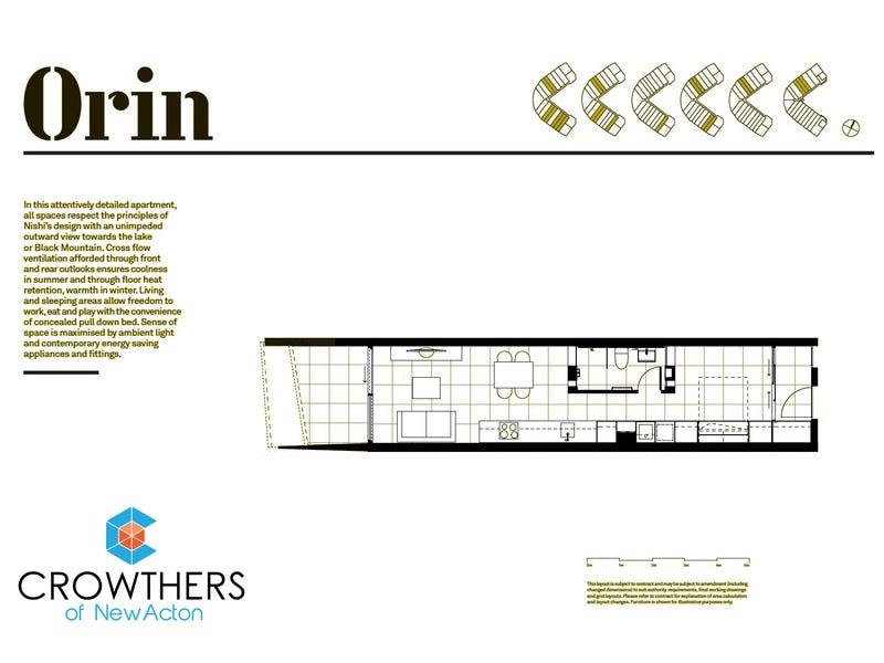 1013/25 Edinburgh Avenue, Acton, ACT 2601 - floorplan