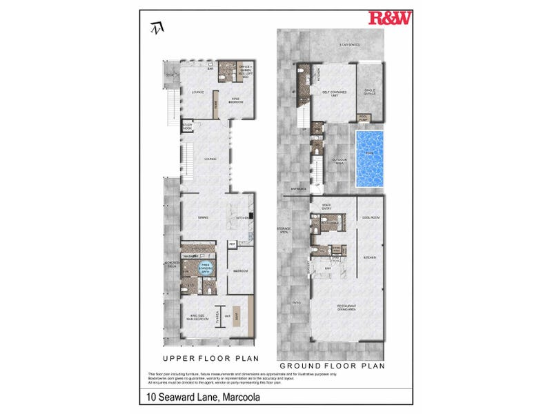 10 Seaward Lane, Marcoola, Qld 4564 - floorplan