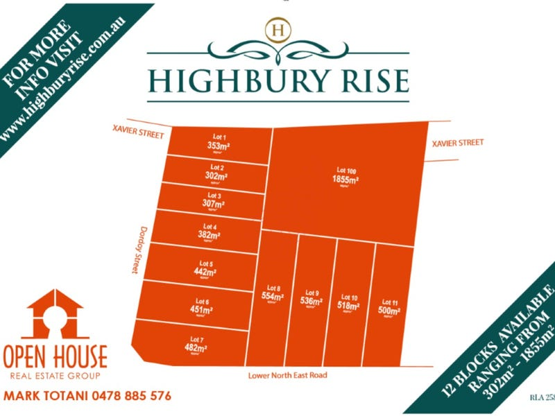 Lot 10, 1113 Lower North East Road, Highbury, SA 5089 - floorplan