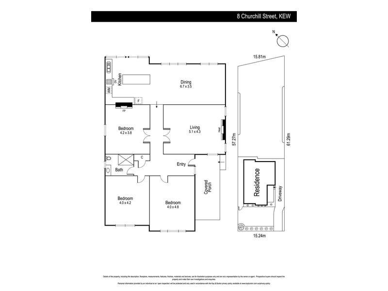 8 Churchill Street, Kew, Vic 3101 - floorplan