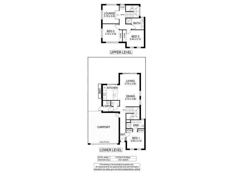 12 A, B & C Struan Avenue, Warradale, SA 5046 - floorplan