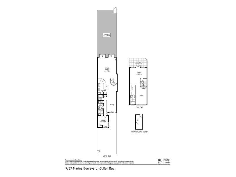 7/57 Marina Boulevard, Cullen Bay, NT 0820 - floorplan