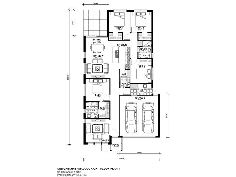 Lot 529 Bruno Avenue, Truganina, Vic 3029 - floorplan