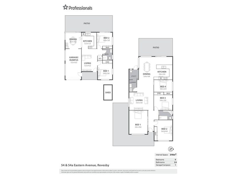 54 Eastern Avenue, Panania, NSW 2213 - floorplan