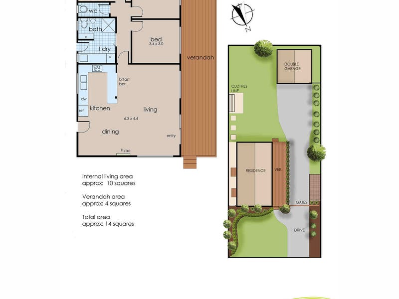 18 Pickings Road, Safety Beach, Vic 3936 - floorplan