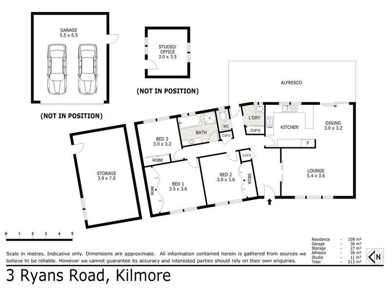 3 Ryans Road, Kilmore, Vic 3764 - floorplan