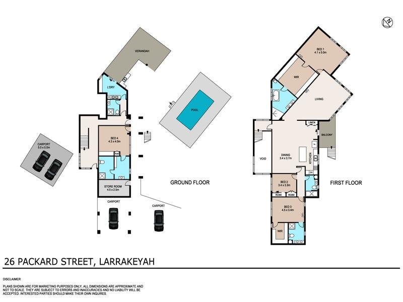 26 Packard Street, Larrakeyah, NT 0820 - floorplan