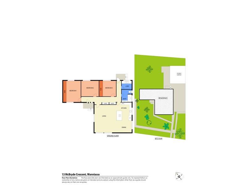 13 McBryde Crescent, Wanniassa, ACT 2903 - floorplan
