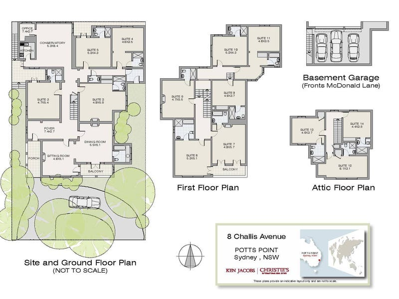 8 Challis Avenue, Potts Point, NSW 2011 - floorplan