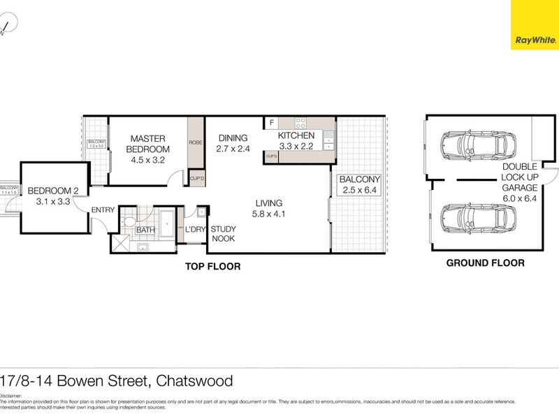 17/8-14 Bowen Street, Chatswood, NSW 2067 - floorplan