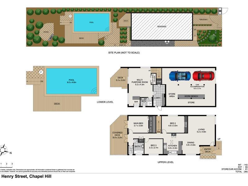 48 Henry Street, Chapel Hill, Qld 4069 - floorplan
