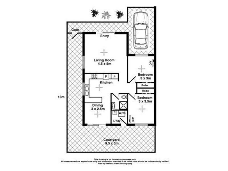13/44 Bagshaw Cr, Gray, NT 0830 - floorplan