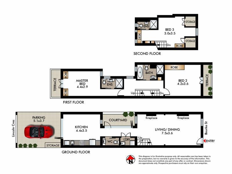 21 Bourke Street, Woolloomooloo, NSW 2011 - floorplan