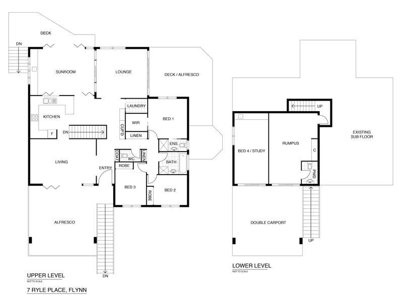 7 Ryle Place, Flynn, ACT 2615 - floorplan